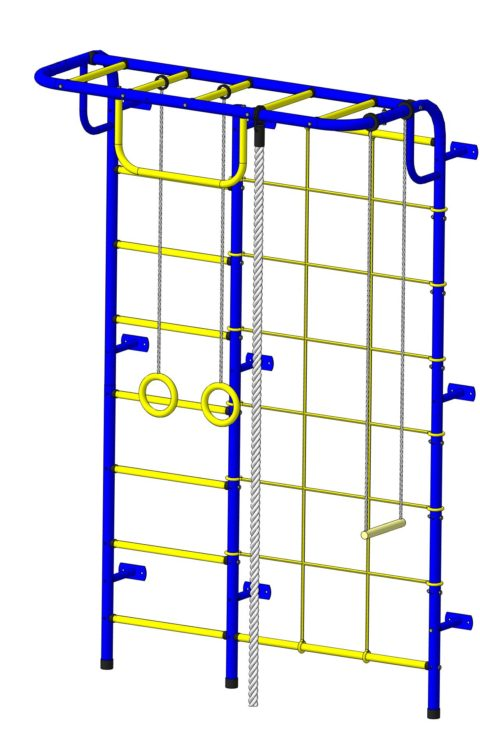 Спортивный комплекс Пионер С104 сине/жёлтый-арт SG000003495 Пионер