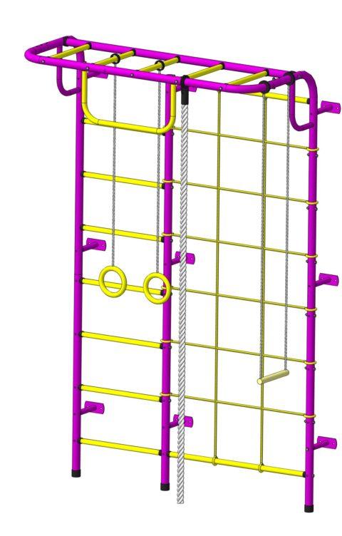 Спортивный комплекс Пионер С104 пурпурно/жёлтый-арт SG000003491 Пионер