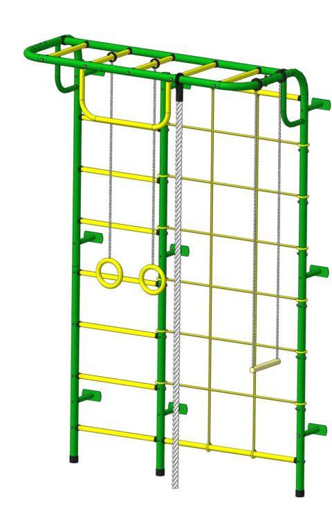 Спортивный комплекс Пионер С104 зелёно/жёлтый-арт SG000003483 Пионер