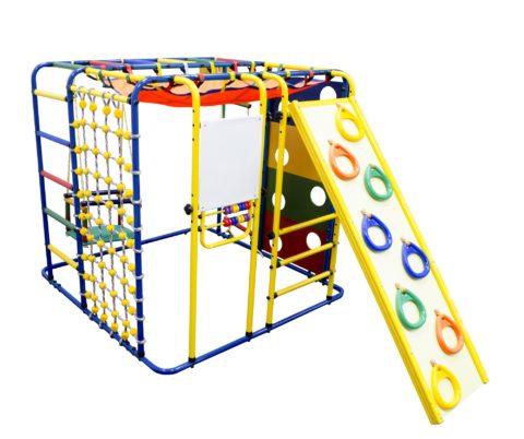 Спортивный комплекс Формула здоровья Кубик У Плюс синий/радуга-арт SG000001820 Формула здоровья