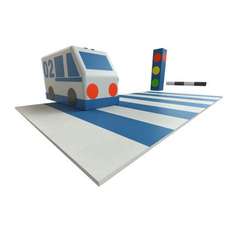 Грамотный пешеход Романа ДМФ-МК-08.96.03-арт SG000001198 Romana