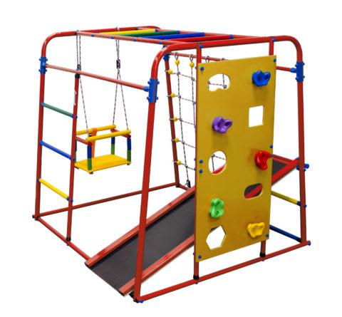Детский спортивный комплекс Формула здоровья Start baby 2 плюс красный/радуга-арт SG000003509 Формула здоровья