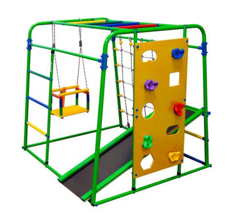 Спортивный комплекс Формула здоровья Start baby 2 Плюс салатовый/радуга-арт SG000003510 Формула здоровья