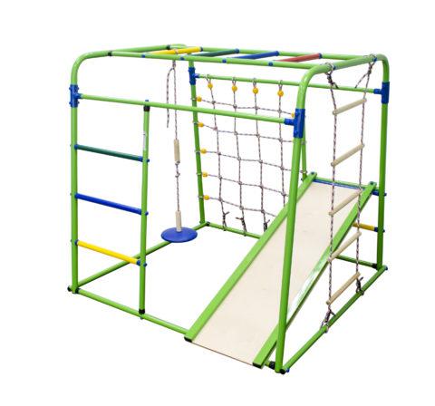 Спортивный комплекс Формула здоровья Start baby 1 Плюс салатовый/радуга-арт SG000003506 Формула здоровья