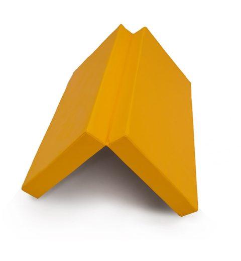 """Мат № 3 (100 х 100 х 10) складной """"КМС"""" жёлтый-арт SG000003548 КМС"""