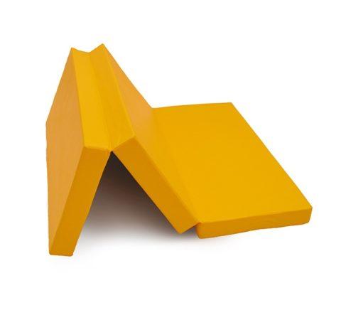 """Мат № 4 (100 х 150 х 10) складной """"КМС"""" жёлтый-арт SG000003549 КМС"""