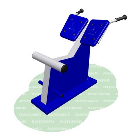 Тренажёр для спины наклонный Романа 207.04.01-арт SG000002388 Romana