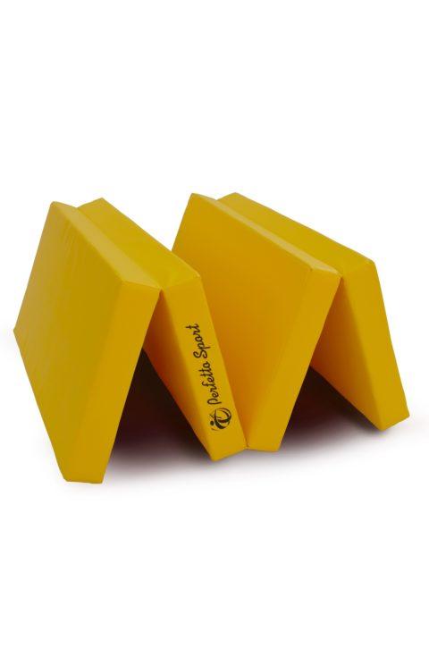 """Мат № 5 (100 х 200 х 10) складной 3 сложения """"PERFETTO SPORT"""" жёлтый-арт SG000003687 Perfetto Sport"""