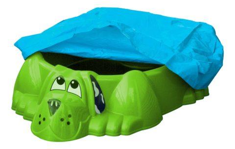 """Песочница-бассейн """"Собачка с покрытием"""" 431 зелёный-арт SG000004483 PalPlay"""