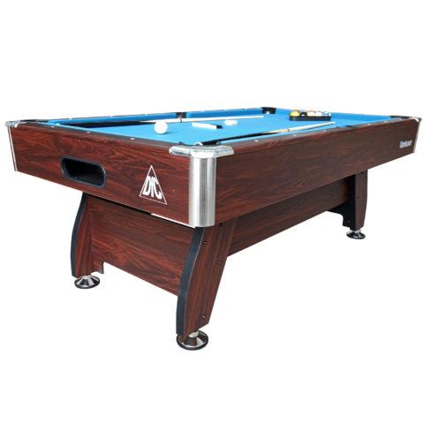 Домашний стол для игры в пул. Размер стола 7 футов.