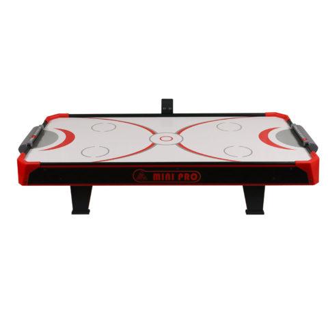 Настольная модель для игры в аэрохоккей. Дополнительно в комплекте идет поле для игры в настольный теннис.