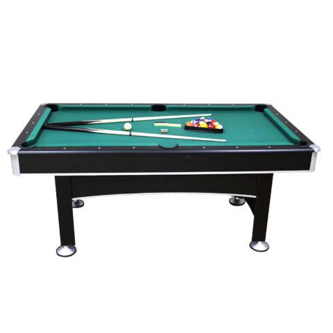 Домашний бильярдный стол для игры в пул. Размер стола 72 дюйма (6 футов).
