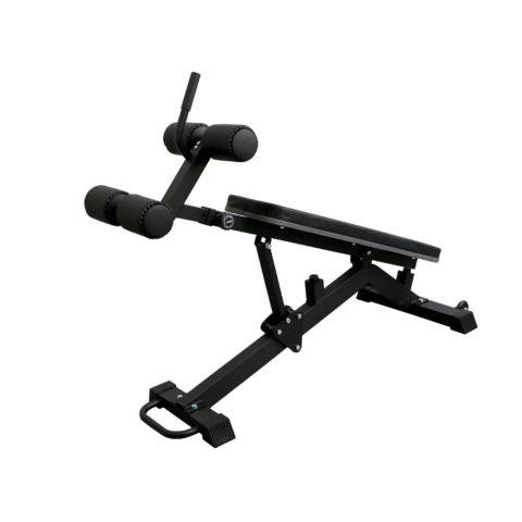 Прямая скамья для пресса предназначена для укрепления мышц пресса и спины.