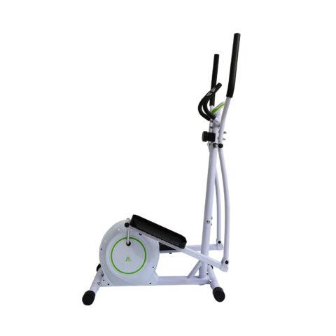 Эллиптический тренажер для домашнего использования. Модель с высокоскоростным маховиком и магнитной системой нагружения.