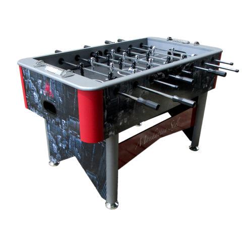 Игровой стол - футбол DFC Manhattan Style - это хорошая возможность весело провести время с семьей или друзьями за любимой игрой. Надежная конструкция обеспечит устойчивость при любых нагрузках. Внешний вид стола с принтом знаменитого города подойдет практически к любому интерьеру загородного дома