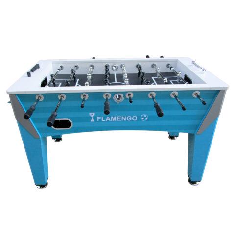 Игровой стол - футбол DFC FLAMENGO - это хорошая возможность весело провести время с семьей или друзьями за любимой игрой. Надежная конструкция обеспечит устойчивость при любых нагрузках. Яркий внешний вид стола подойдет практически к любому интерьеру загородного дома