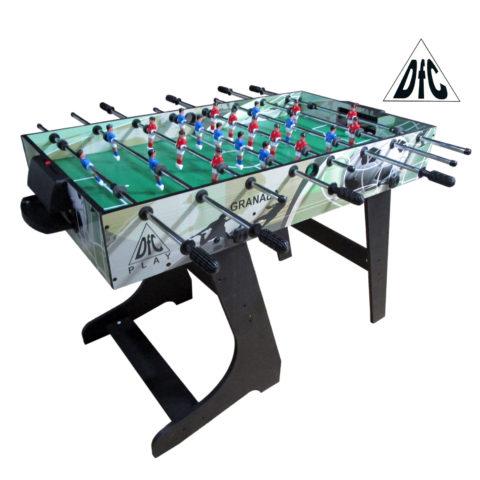 Игровой стол - футбол DFC GRANADA складной GS-ST-1470-арт-GS-ST-1470