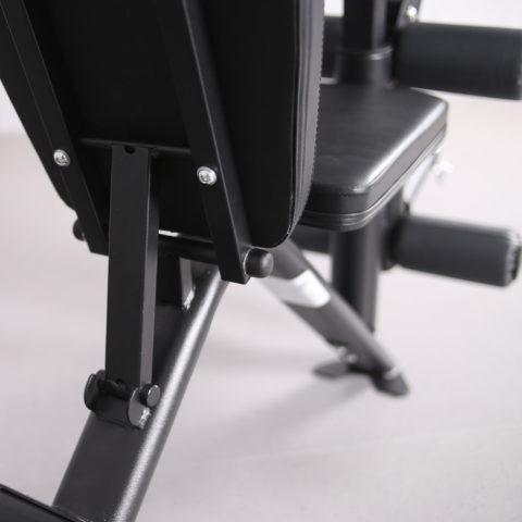 Жимовой гриф и опции позволяют использовать веса (диски) Ø51 мм. Диски приобретаются отдельно.