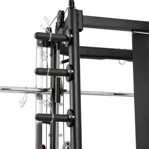 В основе тренажера мощная рама из металлического профиля с порошковой окраской. Основной профиль размером 50*70*3.0 мм.