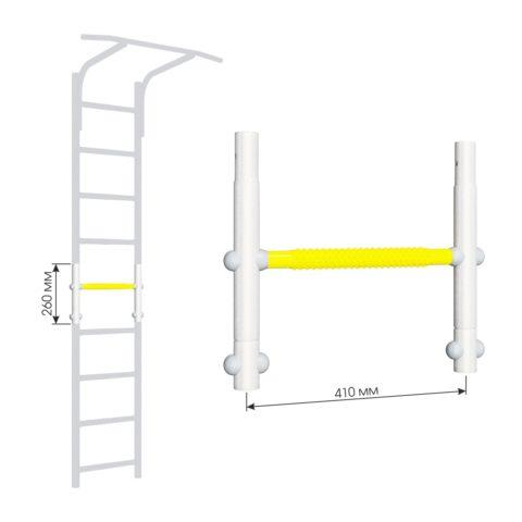Вставка для увеличения высоты ДСКМ 410 Romana Dop8 (6.06.00) белый прованс/жёлтый-арт SG000004652 Romana