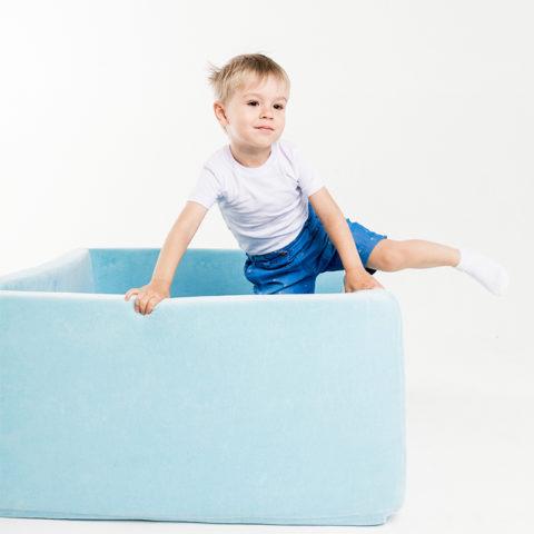 """Сухой бассейн Romana """"Airpool Box"""" ДМФ-МК-02.55.01 голубой-арт SG000004689 Romana"""