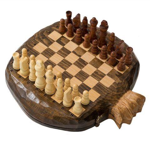 "Шахматы резные ""Гранат"" am017"