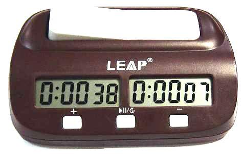 Часы шахматные электронные Leap Easy chclock11
