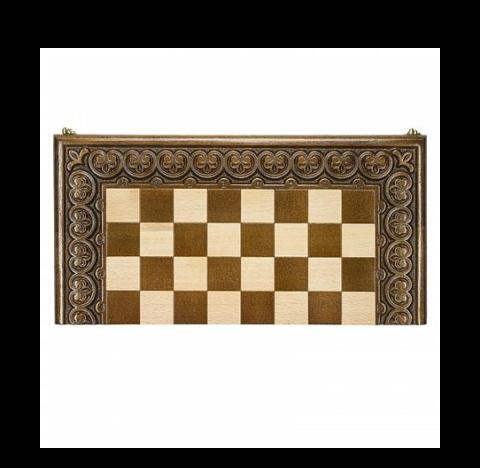 Доска шахматная резная Лотос 40