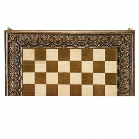 Доска шахматная резная Лотос 60