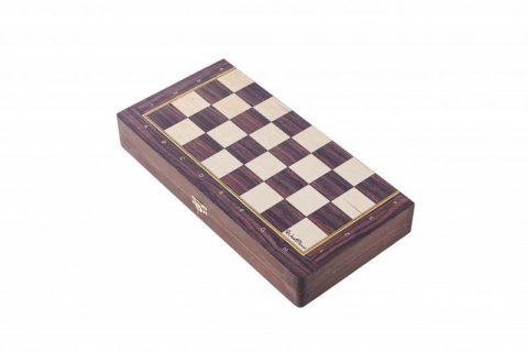 Доска шахматная турнирная складная 40 мм WoodGames