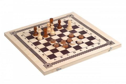 Игра два в одном (шахматы