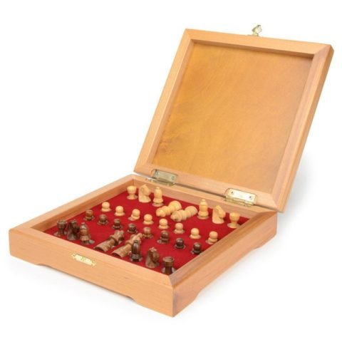 Мини-шахматы деревянные 22х22 см Rovertime