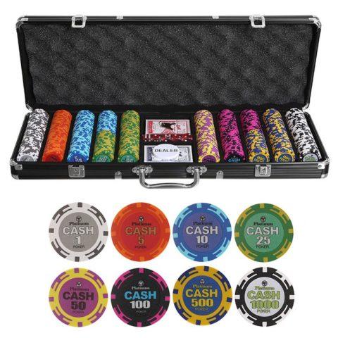 Набор для покера Cash на 500 фишек cash500
