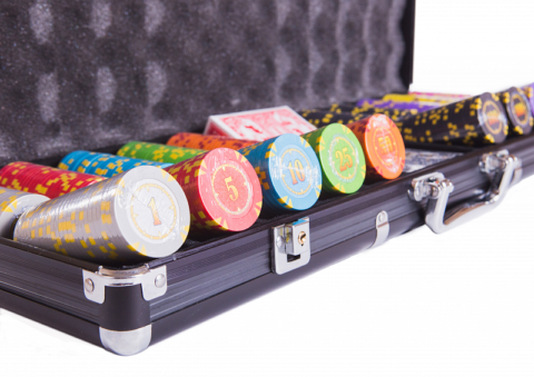 Набор для покера Compas на 500 фишек Partida