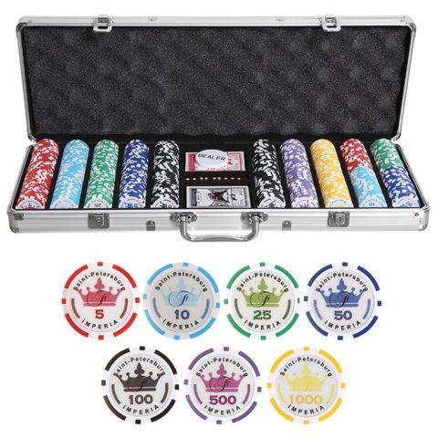 Набор для покера Empire на 500 фишек emp500