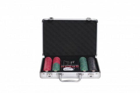 Набор для покера Luxury Ceramic на 200 фишек Partida