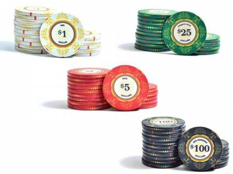 Набор для покера Luxury Ceramic на 200 фишек Lux200