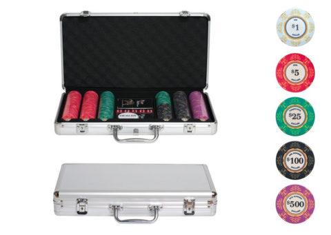 Набор для покера Luxury Ceramic на 300 фишек Lux300