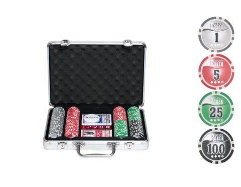 Набор для покера NUTS на 200 фишек n200