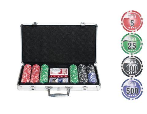 Набор для покера NUTS на 300 фишек n300