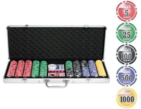 Набор для покера NUTS на 500 фишек n500