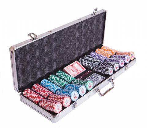 Набор для покера Premium Crown на 500 фишек Partida