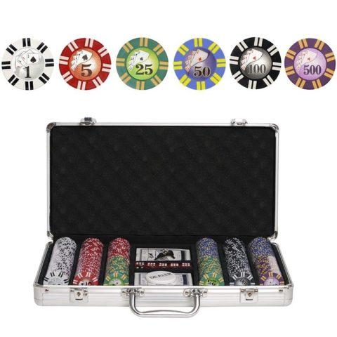 Набор для покера Royal Flush на 300 фишек RF300