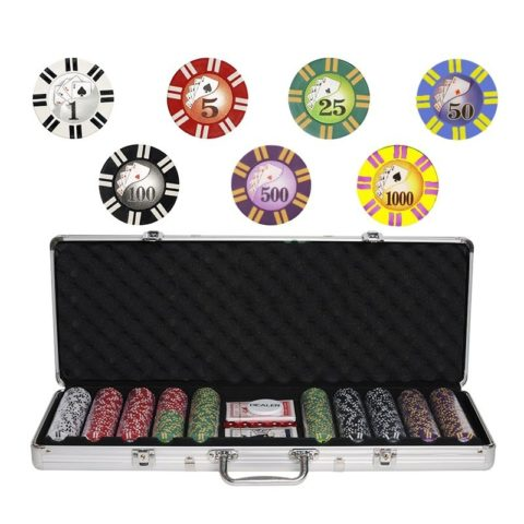 Набор для покера Royal Flush на 500 фишек RF500