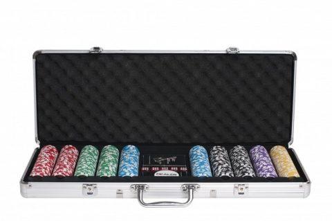Набор для покера Ultimate на 500 фишек Partida