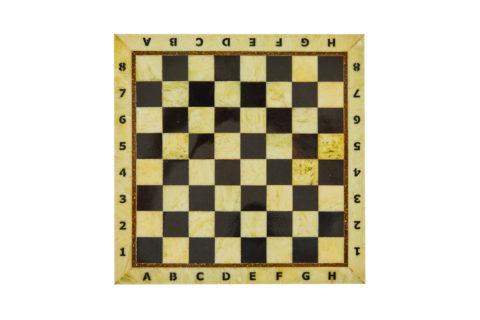 Шахматная доска средняя без рамки 35*35 yantar10