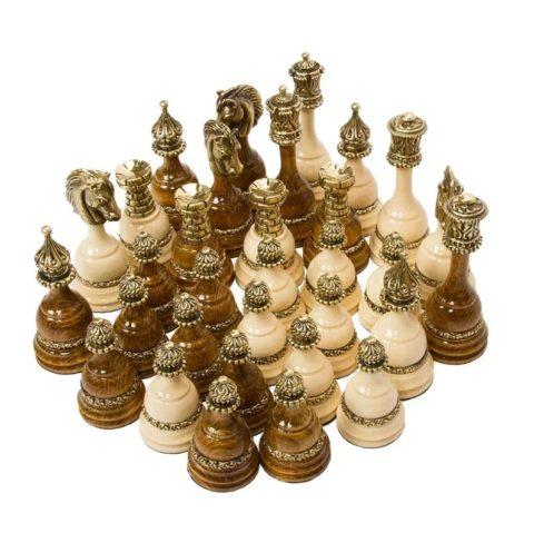 Шахматные фигуры Королевские большие 804