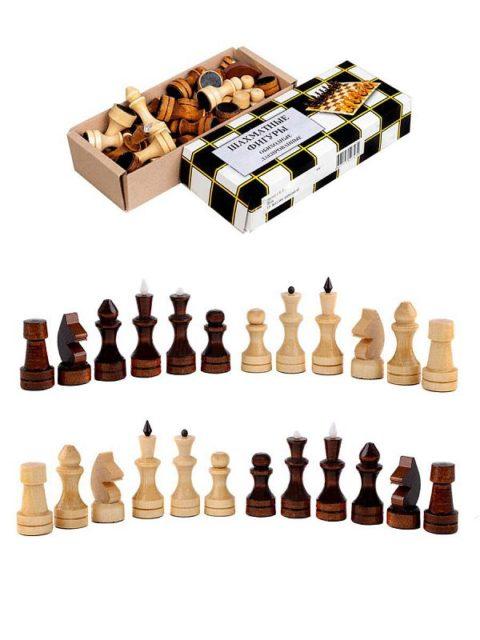 Шахматные фигуры обиходные лакированные (Орлов) Орловская ладья