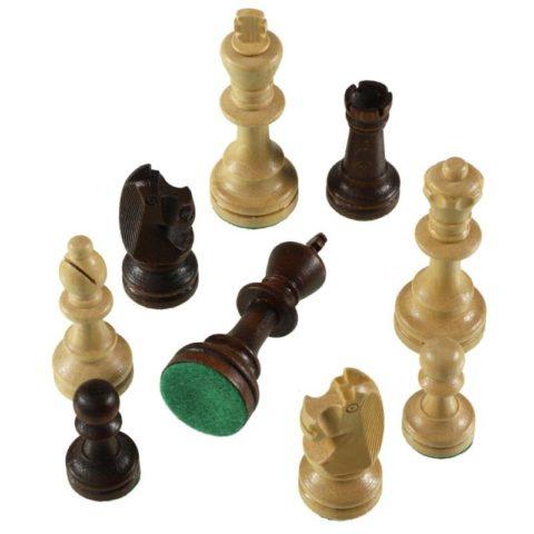 """Шахматные фигуры """"Стаунтон 6"""" в полиэтиленовой упаковке"""