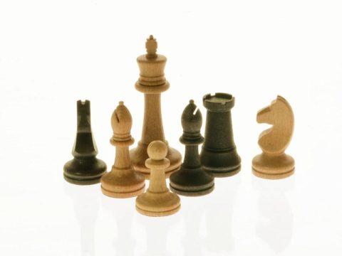 """Шахматные фигуры Сенеж """"Российские №3"""" WoodGames"""